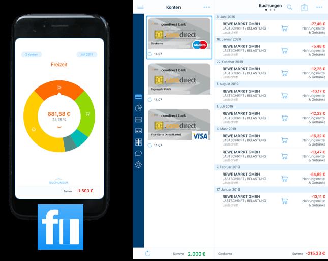 Haushaltsplan erstellen mit der Finanzblick App