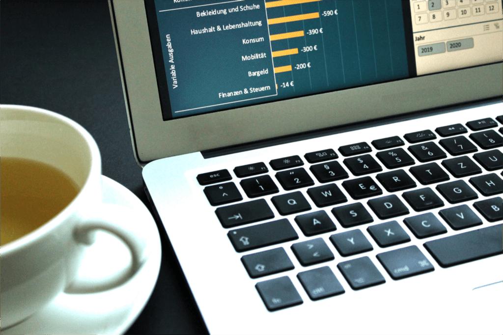 Haushaltsbuch führen mit Excel Tabellenkalkulation