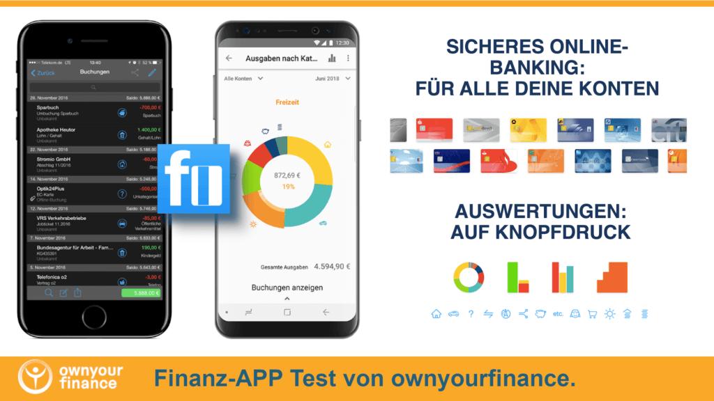 Haushaltsbuch App Test Plusminus
