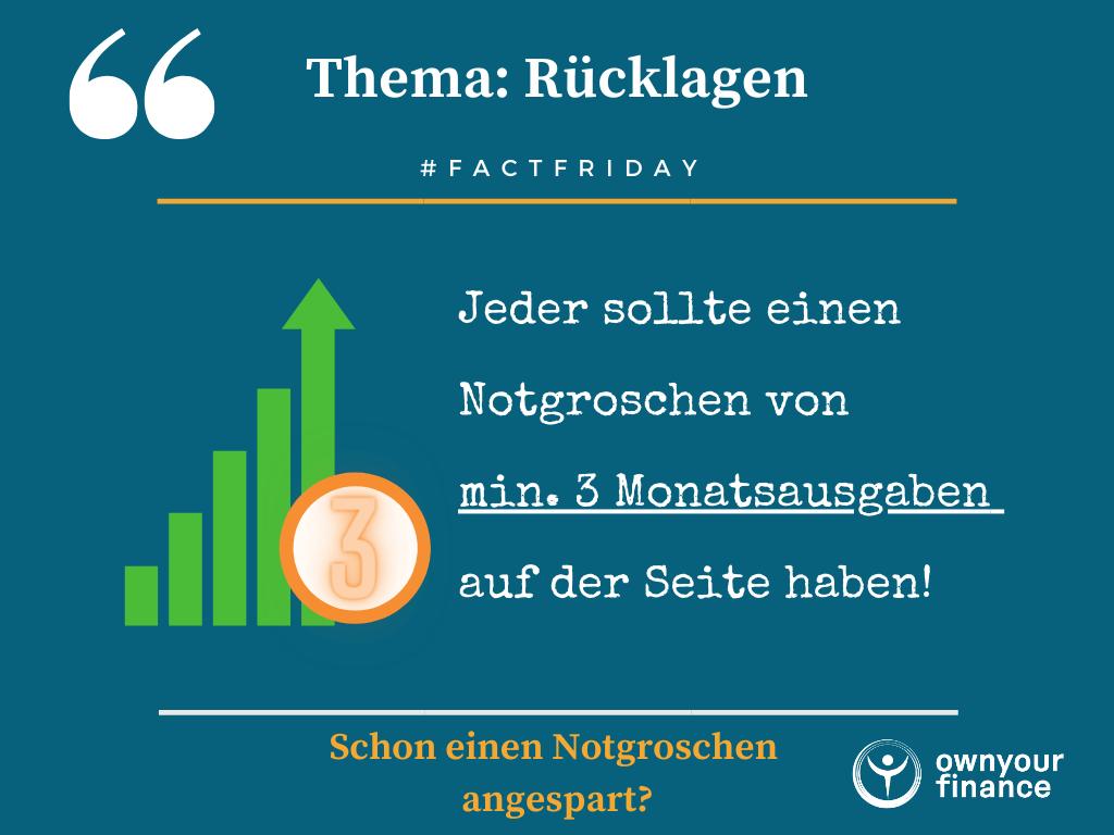 Read more about the article Notgroschen aufbauen – 1A Fundament für dein Portfolio